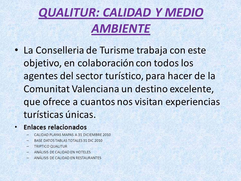 QUALITUR: CALIDAD Y MEDIO AMBIENTE