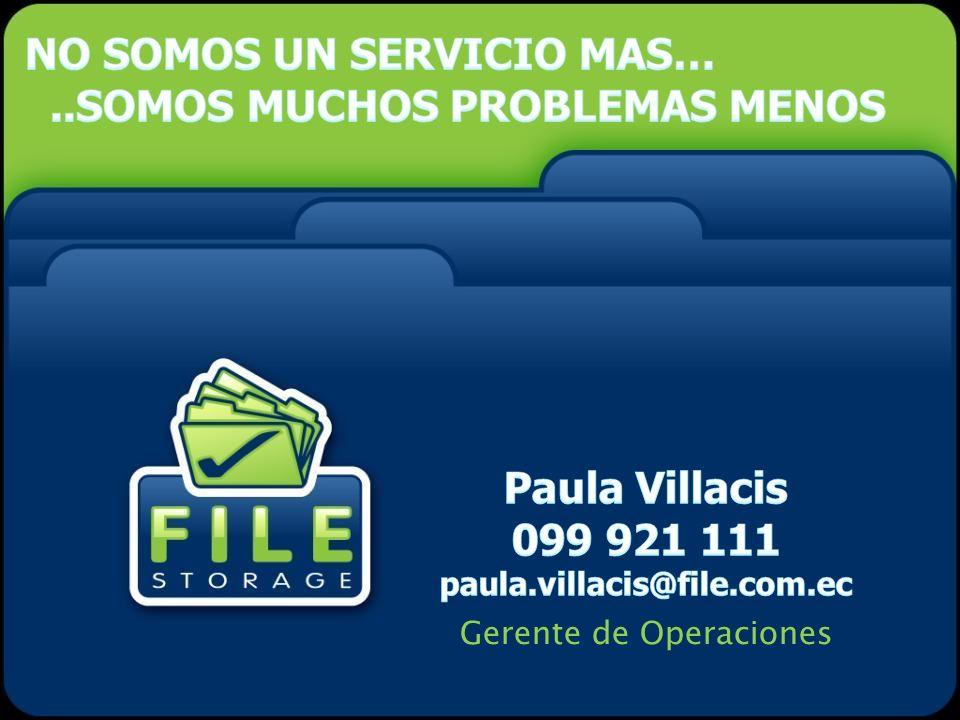Paula Villacis 099 921 111 paula.villacis@file.com.ec