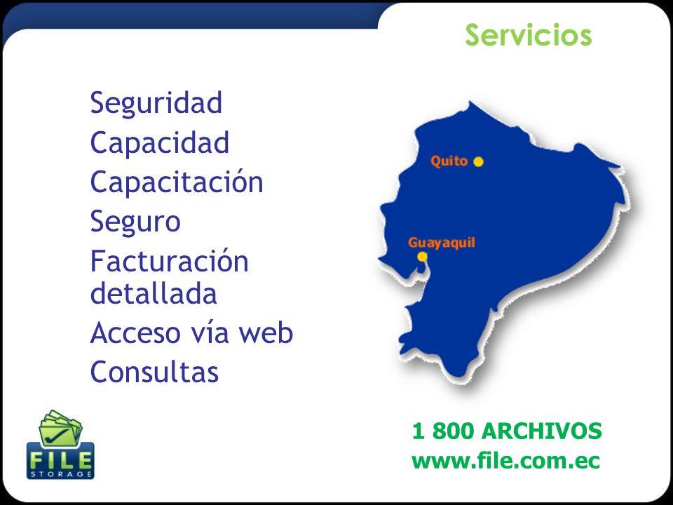 Facturación detallada Acceso vía web Consultas