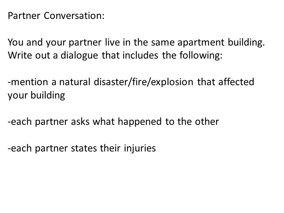 Partner Conversation: