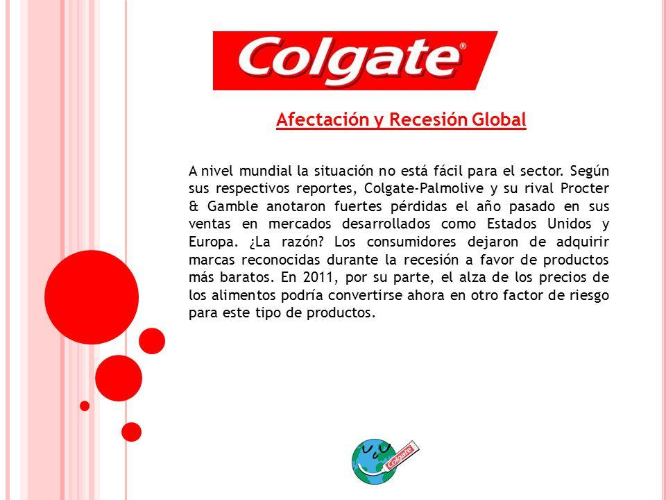 Afectación y Recesión Global