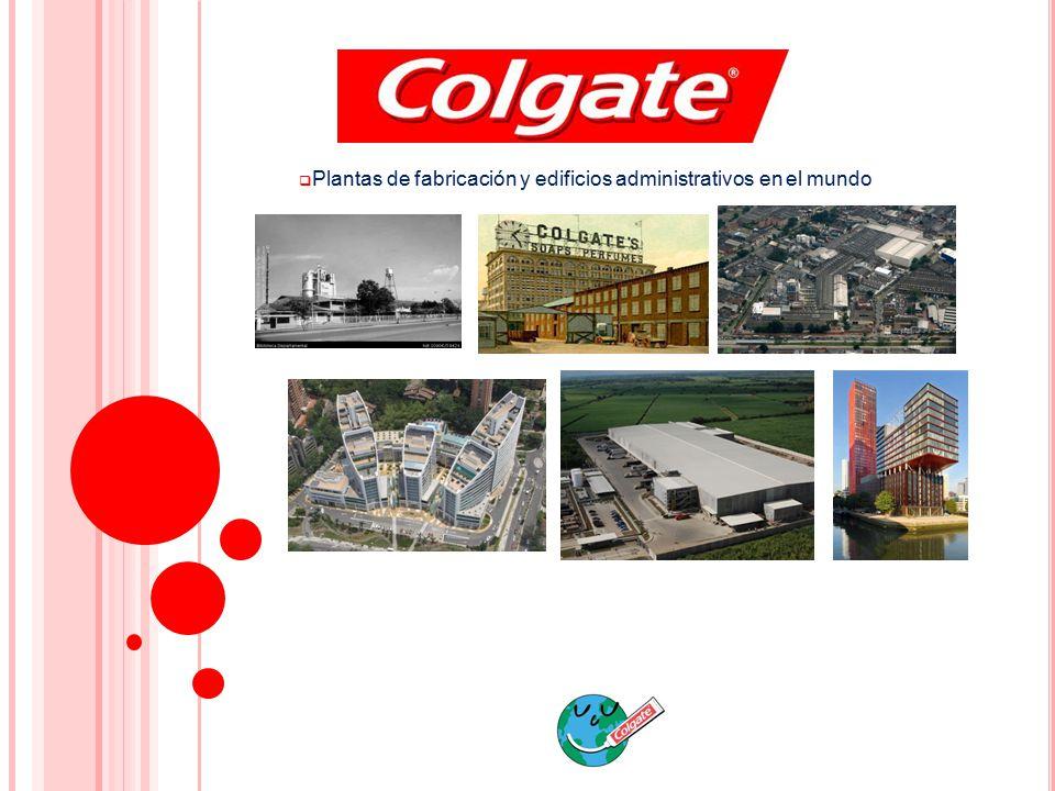 Plantas de fabricación y edificios administrativos en el mundo