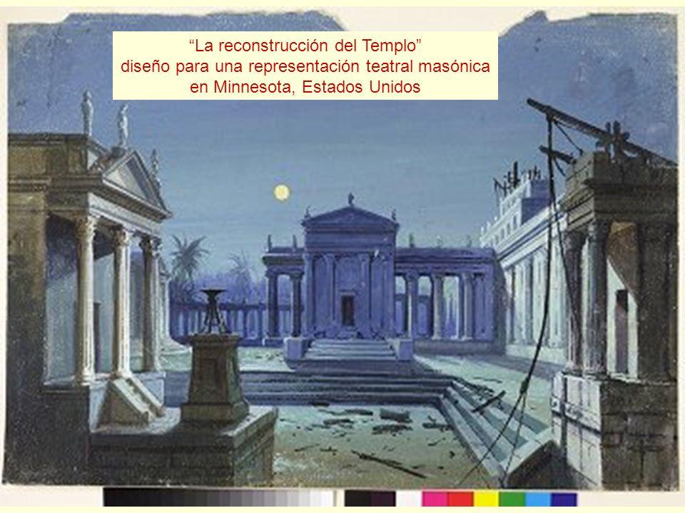 La reconstrucción del Templo