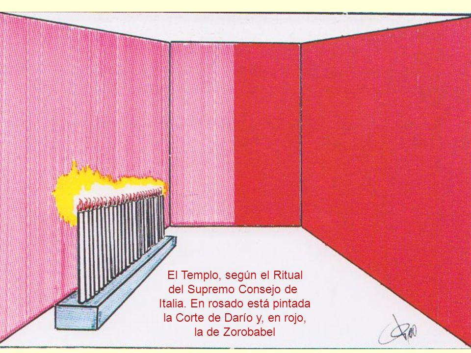El Templo, según el Ritual del Supremo Consejo de