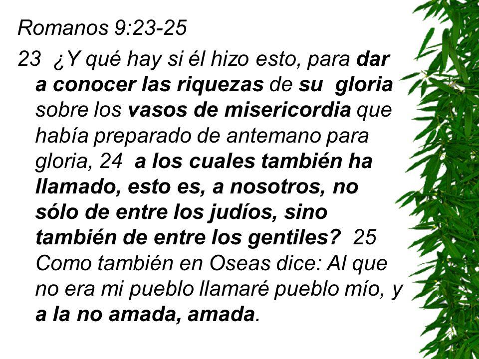 Romanos 9:23-25