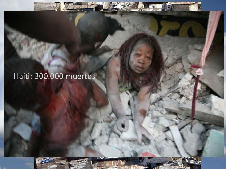 Haiti: 300.000 muertos