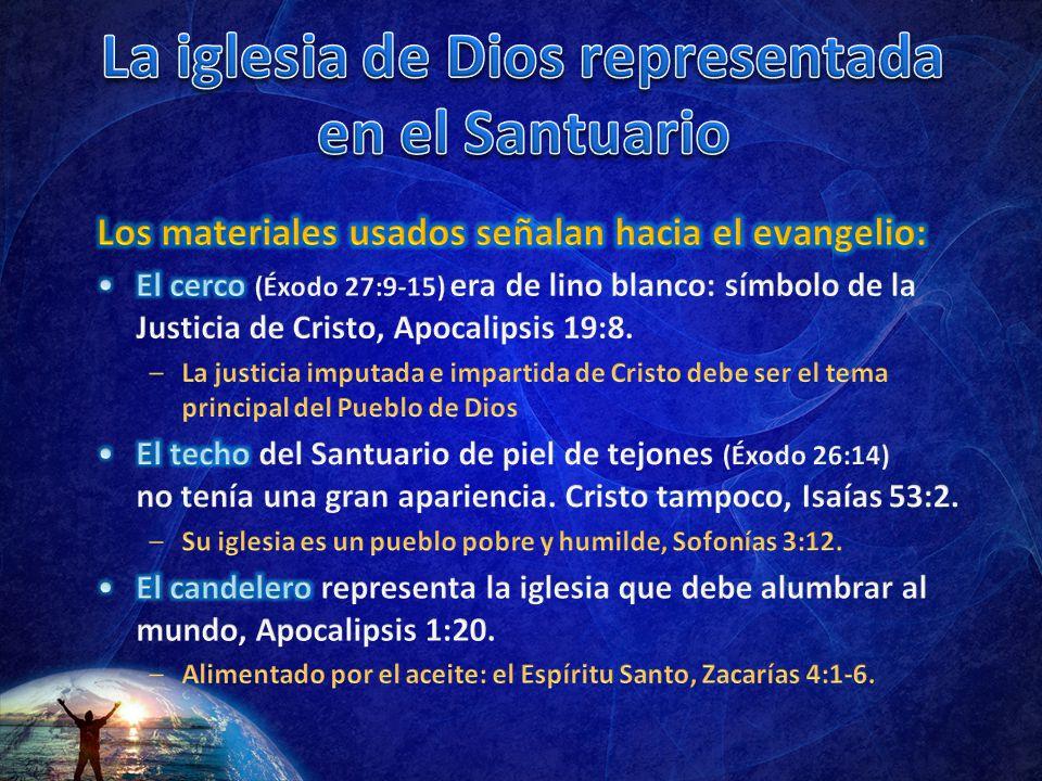 La iglesia de Dios representada en el Santuario