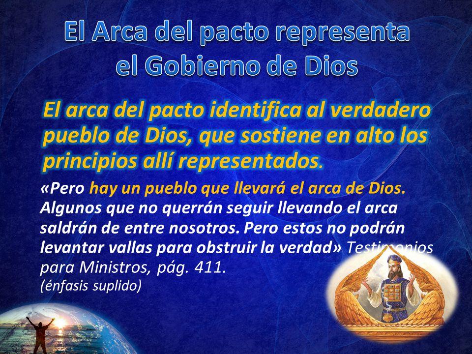 El Arca del pacto representa el Gobierno de Dios