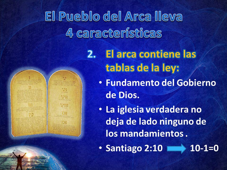 El Pueblo del Arca lleva 4 características