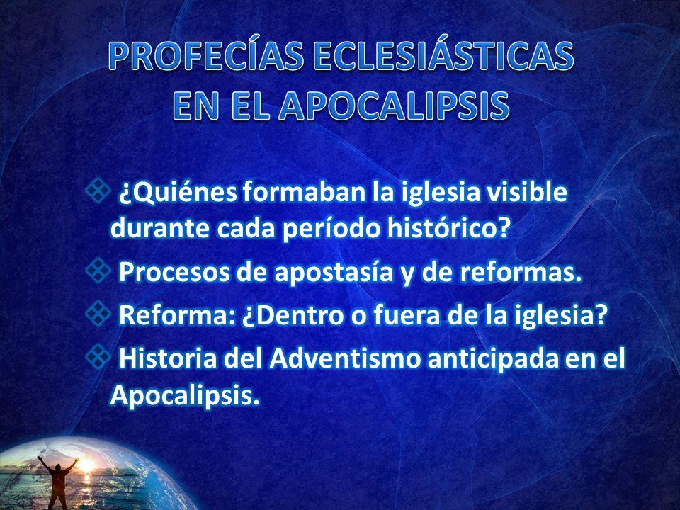 PROFECÍAS ECLESIÁSTICAS EN EL APOCALIPSIS
