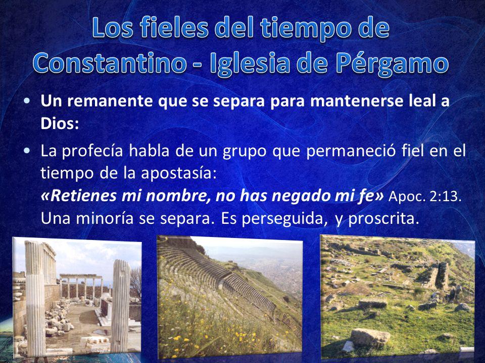 Los fieles del tiempo de Constantino - Iglesia de Pérgamo