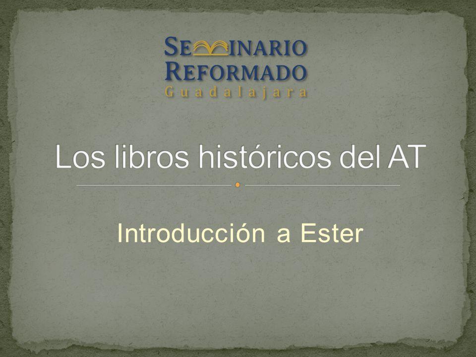 Los libros históricos del AT