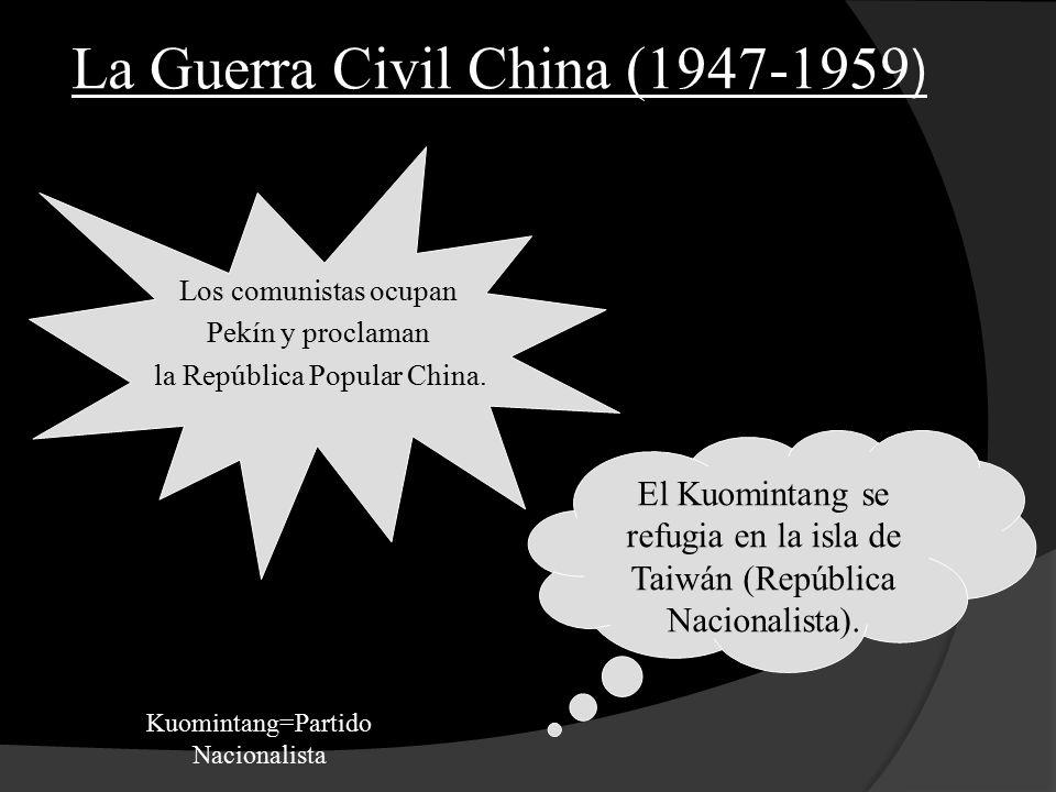 La Guerra Civil China (1947-1959)