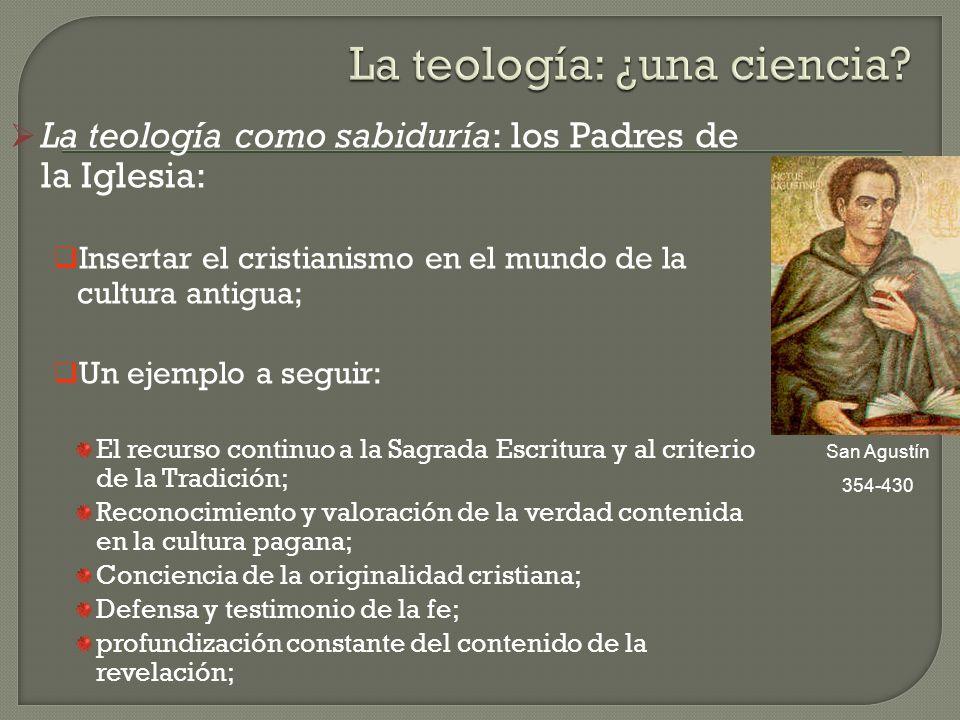 La teología: ¿una ciencia