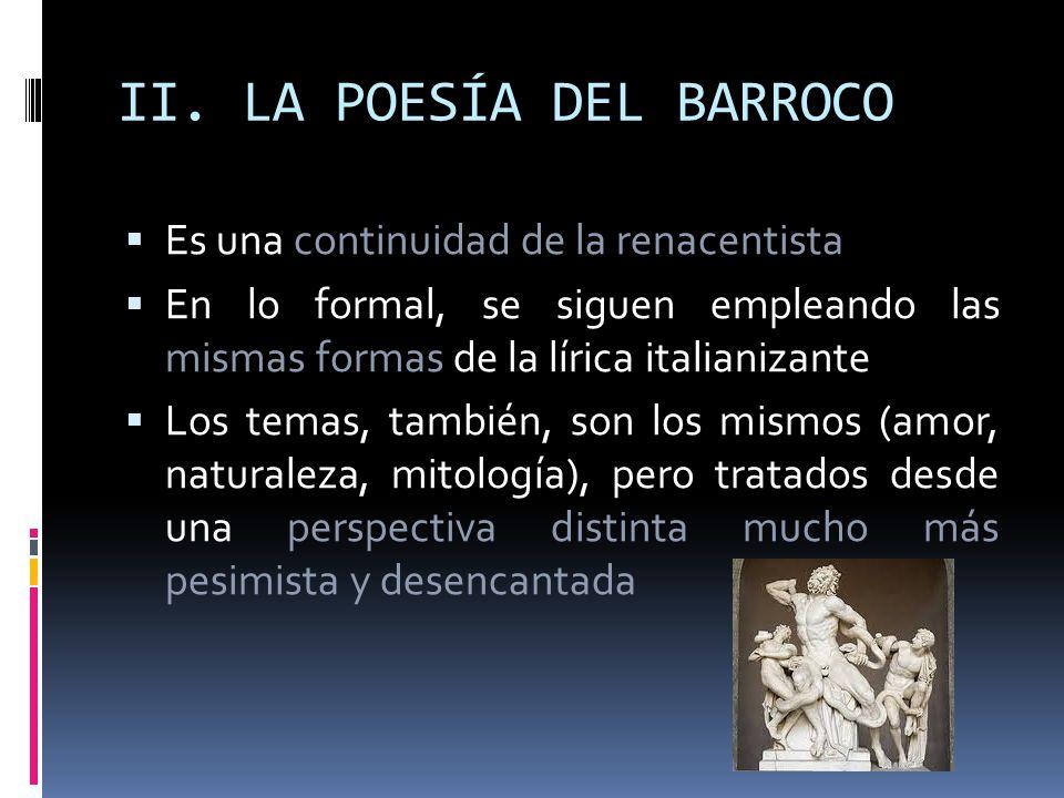 II. LA POESÍA DEL BARROCO