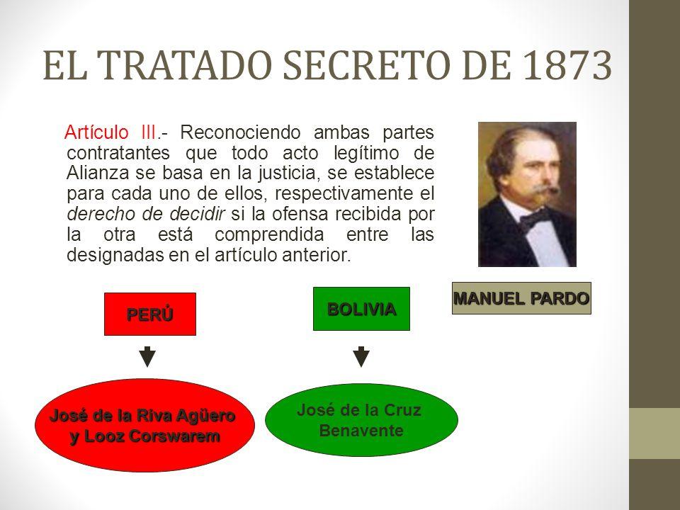 EL TRATADO SECRETO DE 1873