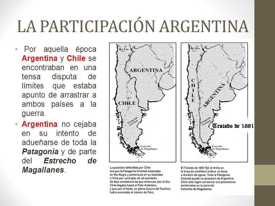 LA PARTICIPACIÓN ARGENTINA