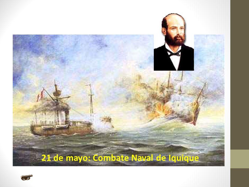 21 de mayo: Combate Naval de Iquique