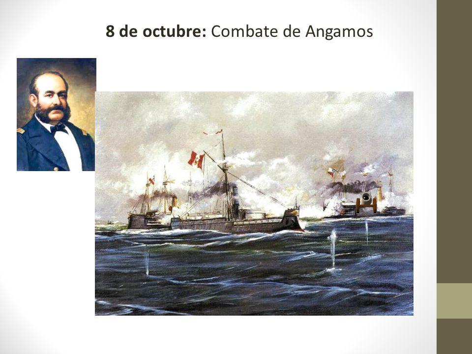 8 de octubre: Combate de Angamos