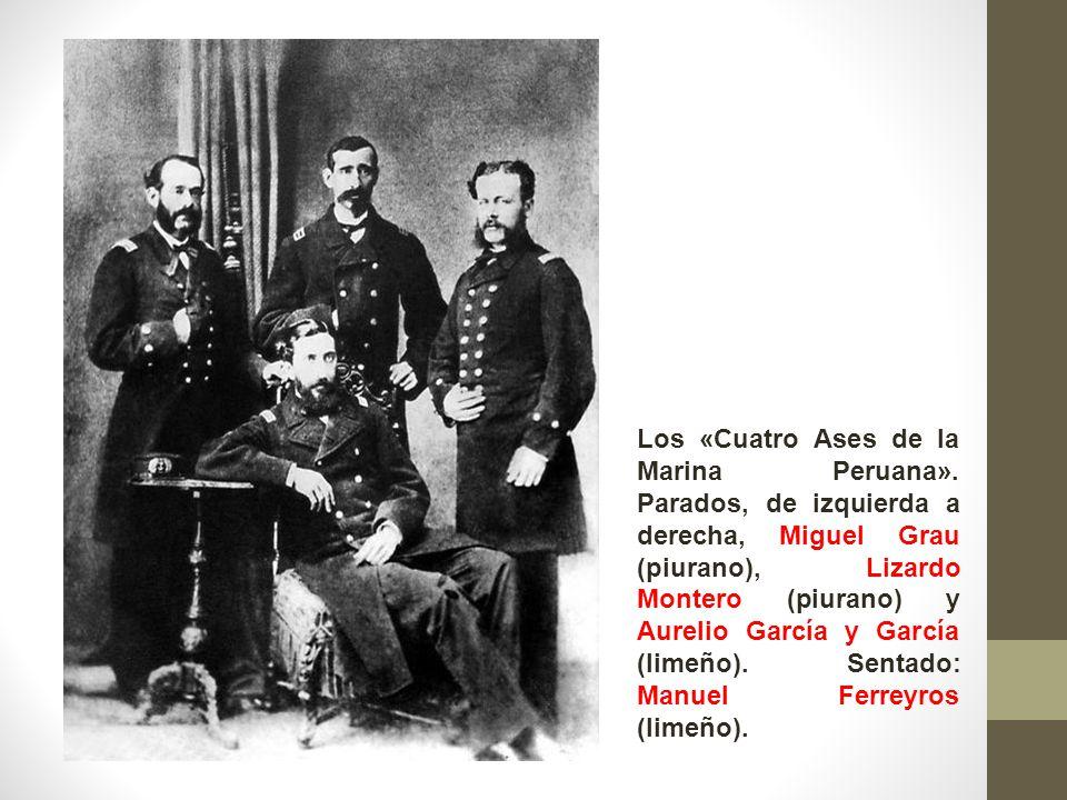 Los «Cuatro Ases de la Marina Peruana»