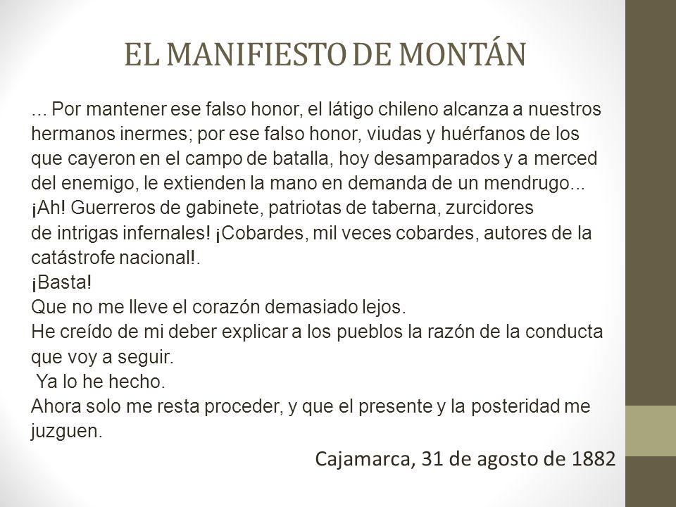 EL MANIFIESTO DE MONTÁN