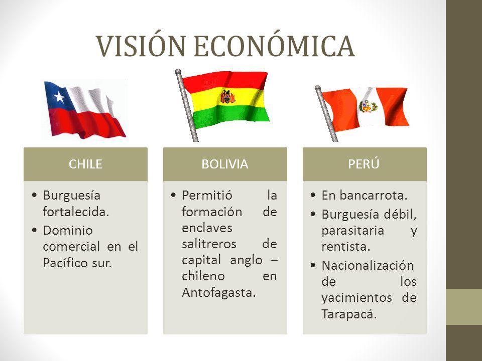 VISIÓN ECONÓMICA CHILE Burguesía fortalecida.