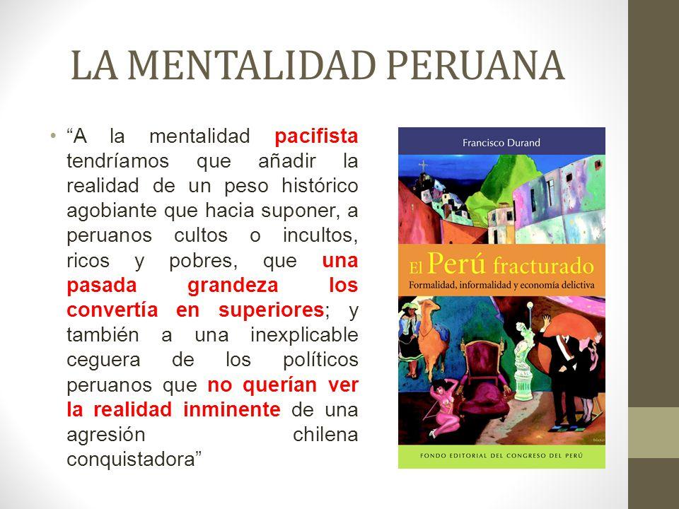 LA MENTALIDAD PERUANA