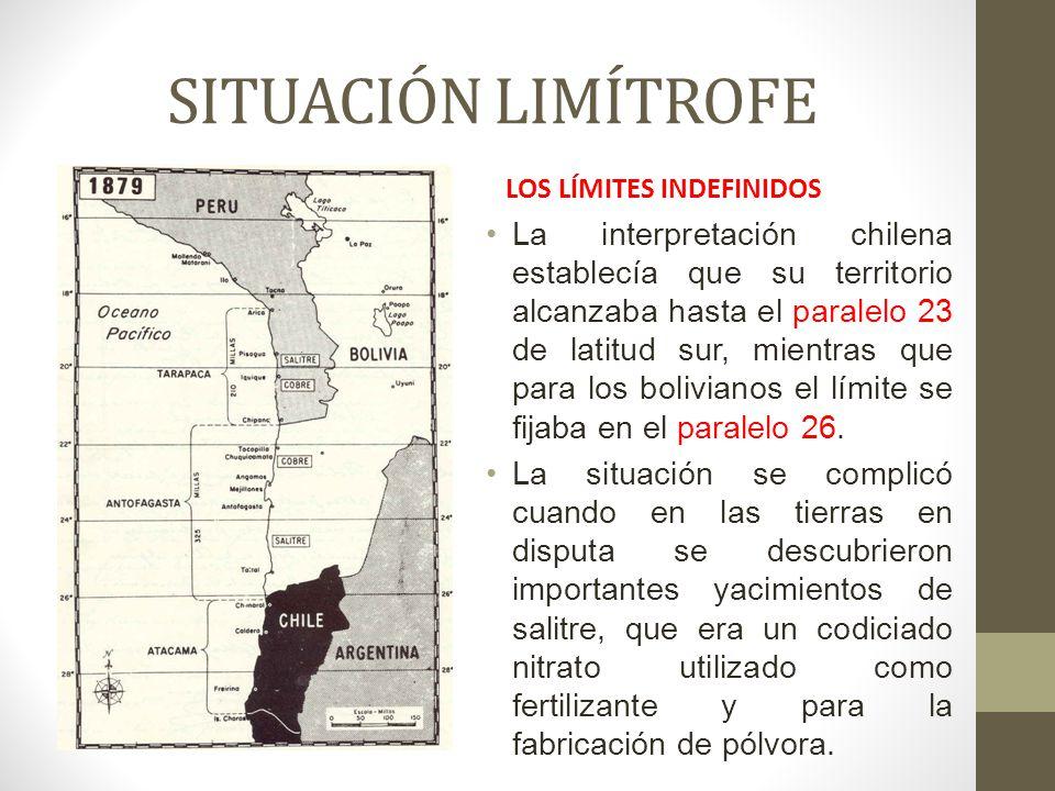 SITUACIÓN LIMÍTROFE LOS LÍMITES INDEFINIDOS.