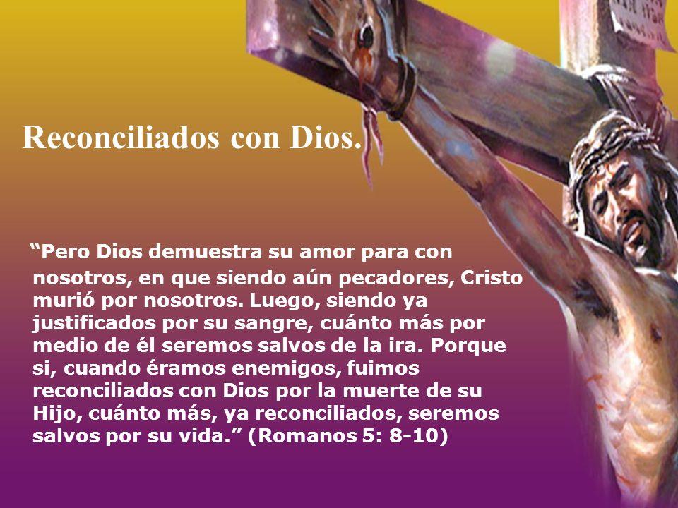 Reconciliados con Dios.