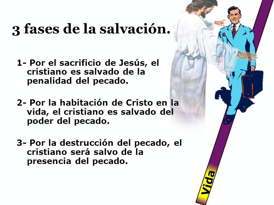3 fases de la salvación. Vida