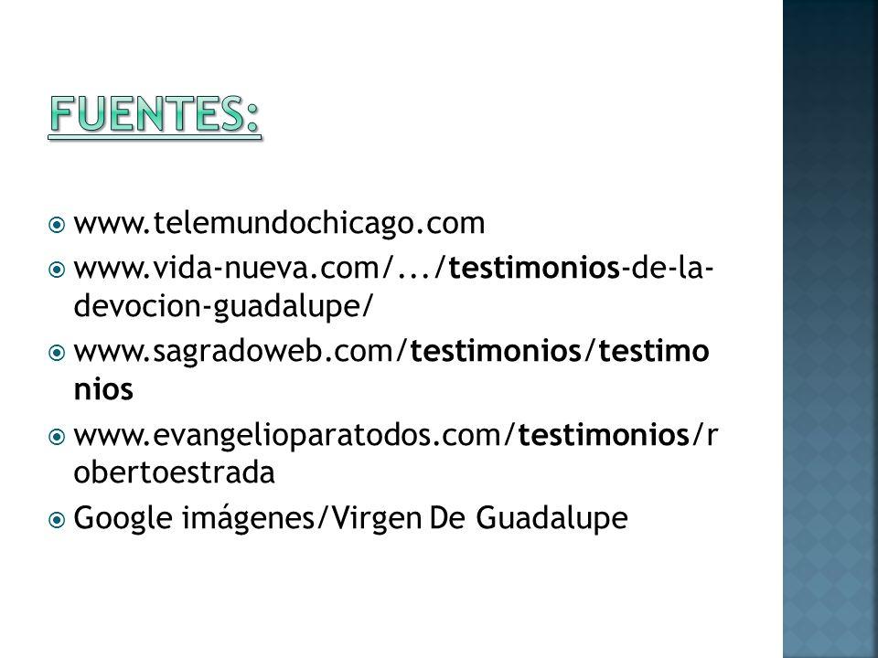 Fuentes: www.telemundochicago.com