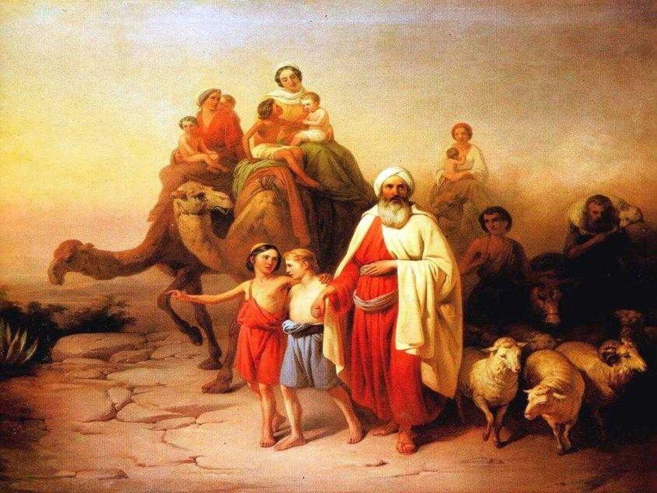 Dios, invita a Abrahán a dejar su tierra y a salir hacia otra tierra.