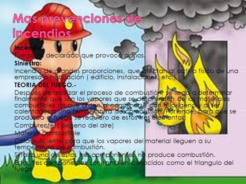 Mas prevenciones de incendios