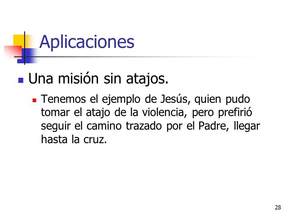 Aplicaciones Una misión sin atajos.
