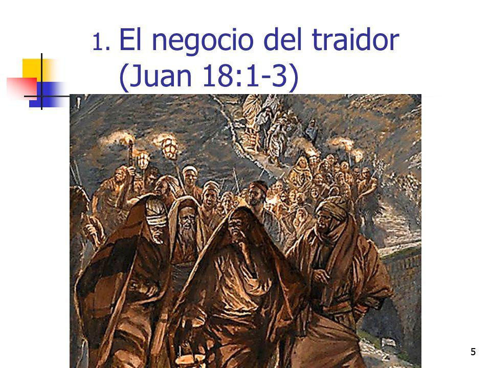 El negocio del traidor (Juan 18:1-3)