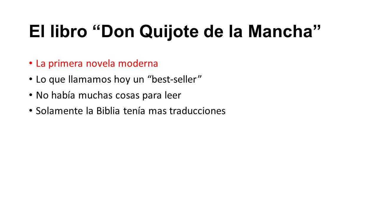 El libro Don Quijote de la Mancha