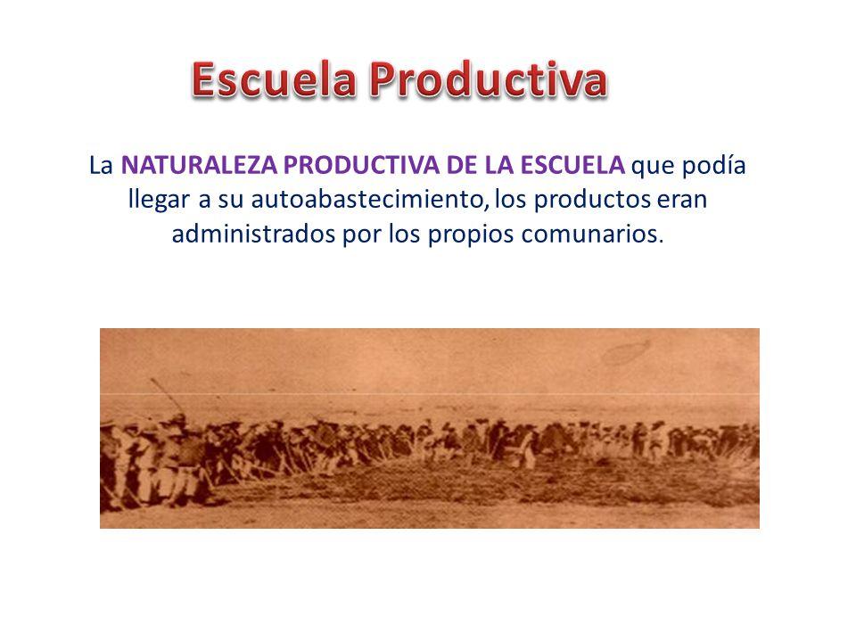 Escuela Productiva