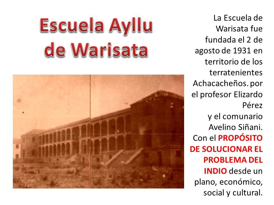 Escuela Ayllu de Warisata