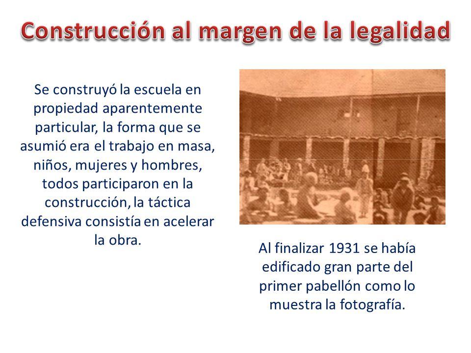 Construcción al margen de la legalidad