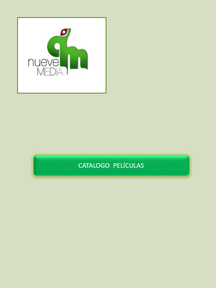 CATALOGO PELÍCULAS