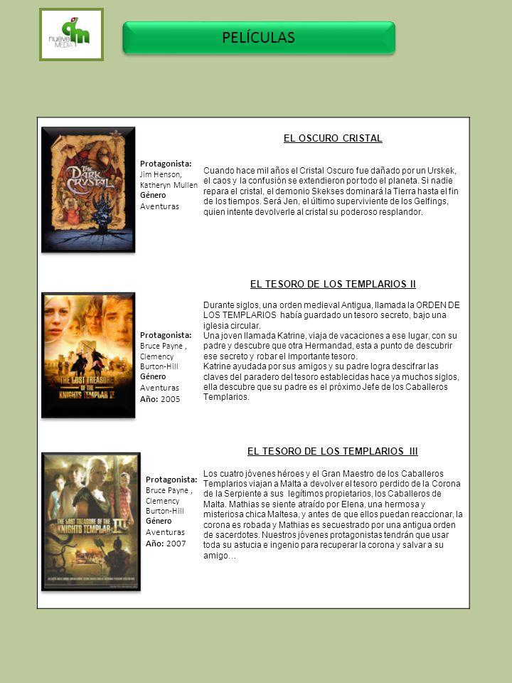EL TESORO DE LOS TEMPLARIOS ll EL TESORO DE LOS TEMPLARIOS III