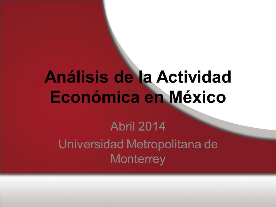 Análisis de la Actividad Económica en México