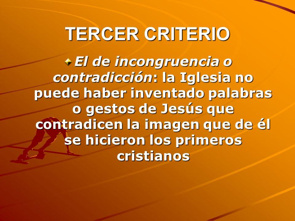 TERCER CRITERIO