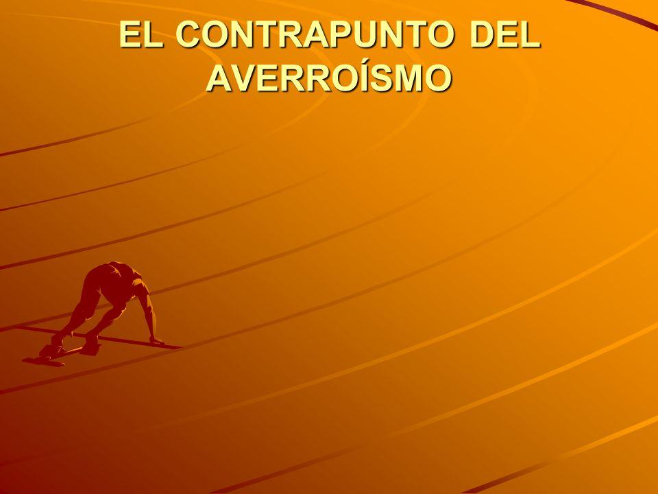 EL CONTRAPUNTO DEL AVERROÍSMO