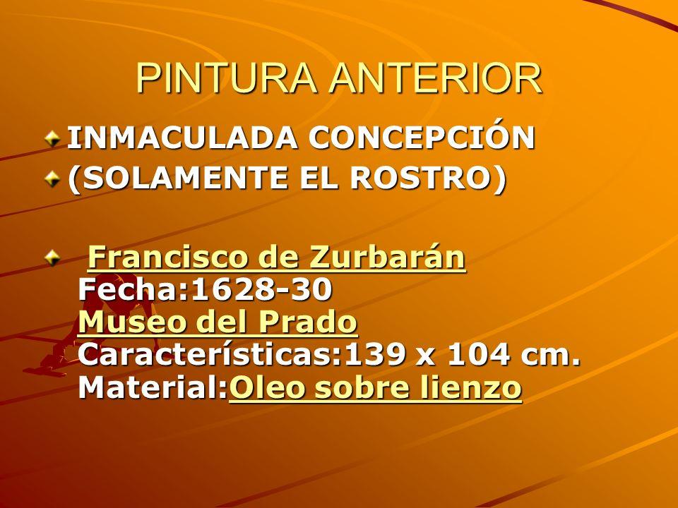 PINTURA ANTERIOR INMACULADA CONCEPCIÓN (SOLAMENTE EL ROSTRO)