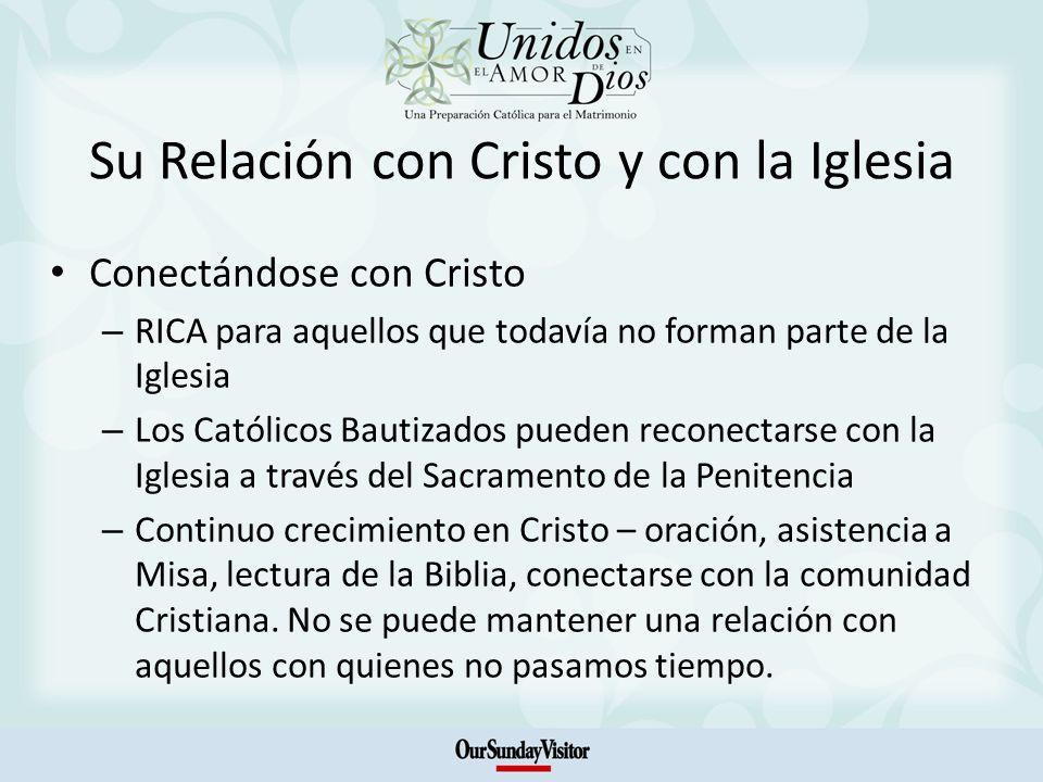 Su Relación con Cristo y con la Iglesia