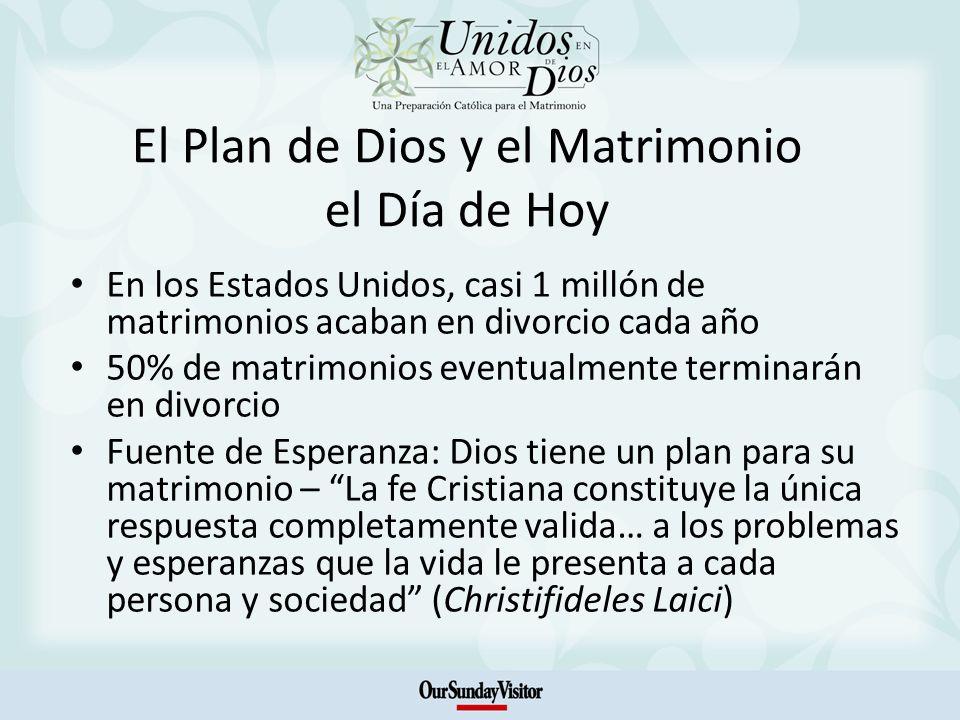 El Plan de Dios y el Matrimonio el Día de Hoy