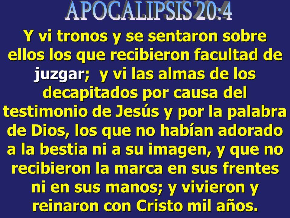 APOCALIPSIS 20:4