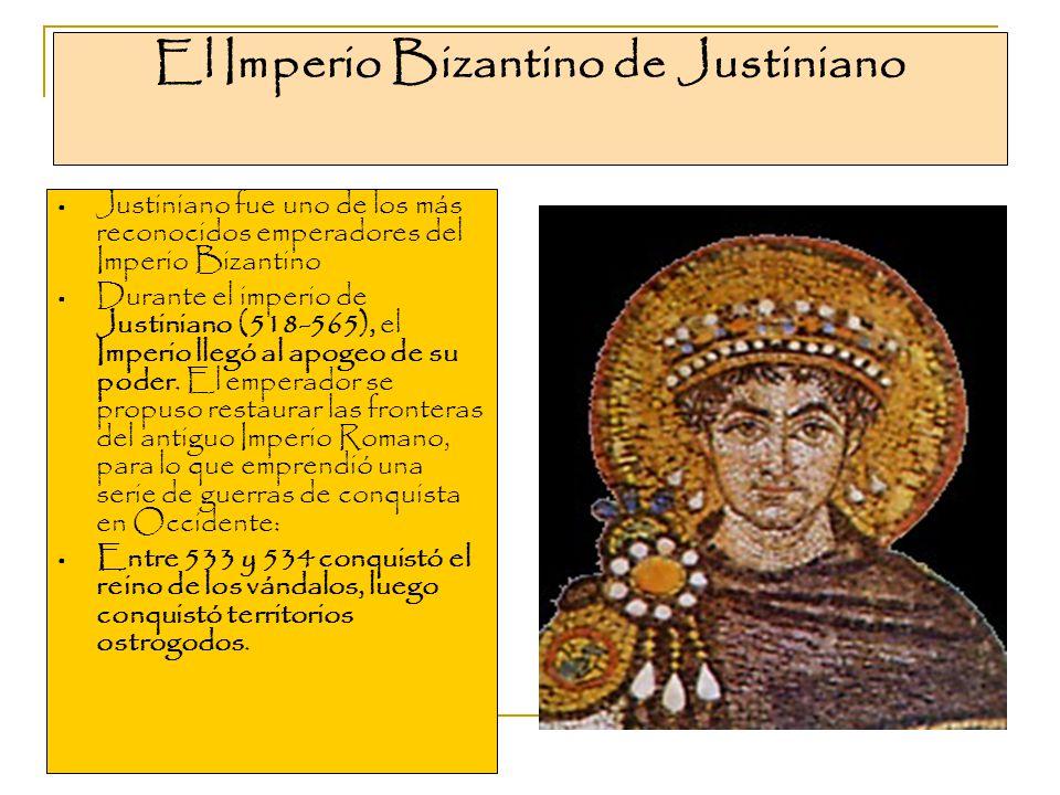 El Imperio Bizantino de Justiniano