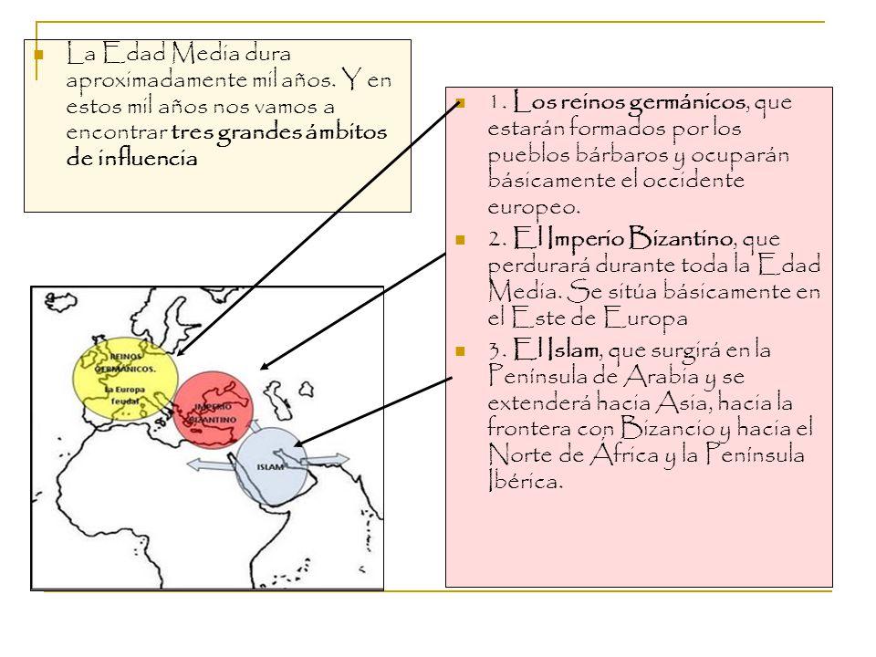 La Edad Media dura aproximadamente mil años